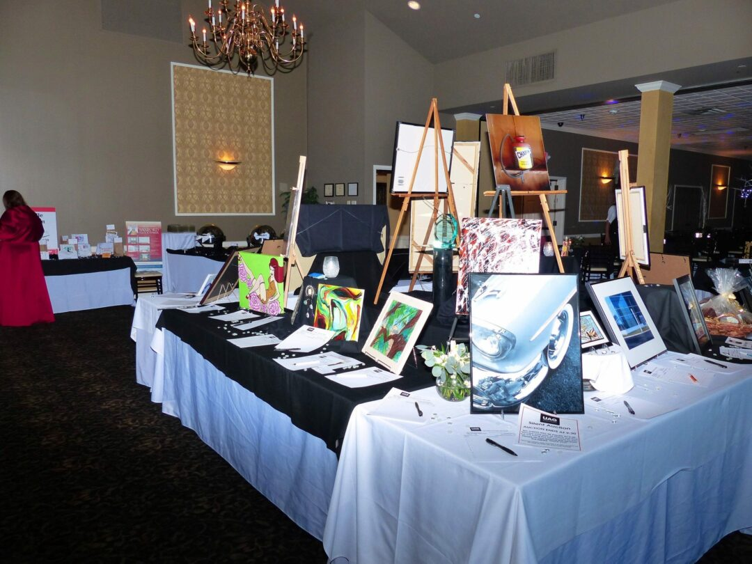 Upstate Artist Guild's annual Black & White Gala takes place Saturday, Feb. 27, at Overit Media in Albany. Photo by Timothy Reidy