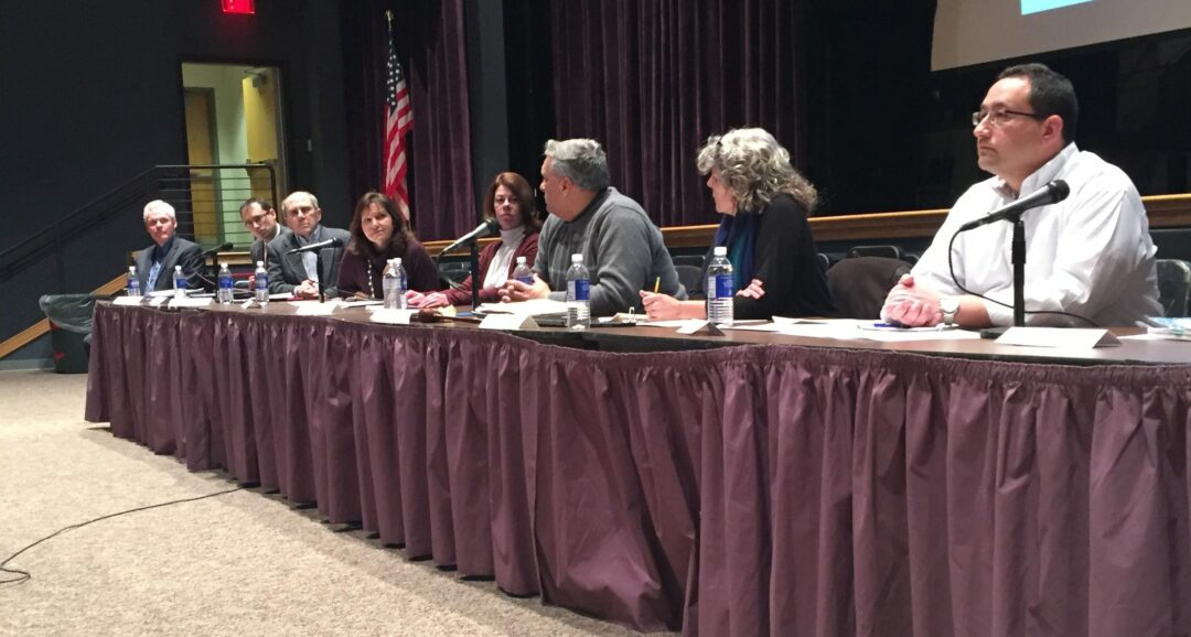 The Voorheesville school board passes a tax exemption for U.S. military veterans, falling in line with the state's Veteran's Tax Exemption law. Tricia Cremo/Spotlight