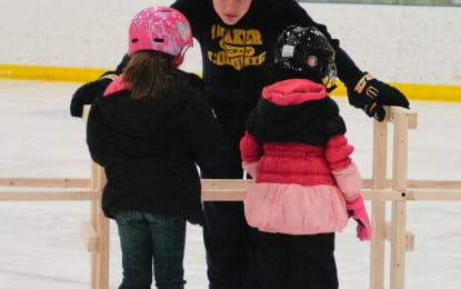 An ice time: a new, free Albany County program teaches kids how to skate