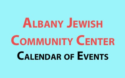 Albany Jewish Community Center June calendar of events