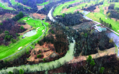 Albany sues Bethlehem and Normanside Country Club as landslide continues to wreak havoc a year after it occurred