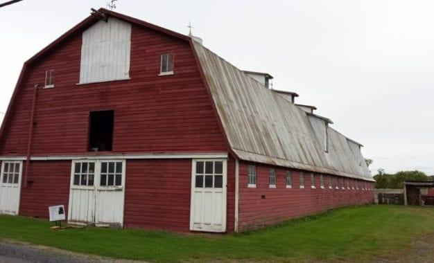 Sandy Creek Barn is no more