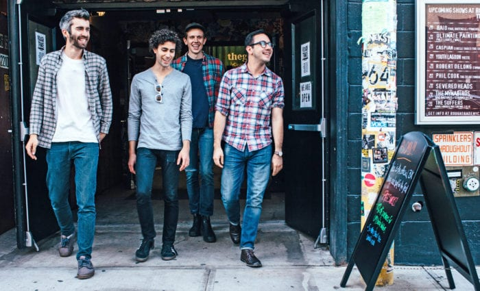 """""""We're just really  excited to get up to Albany again. ... You are our tour end and decompression city, and we would like to thank you for that."""" Josh Hook, Tokyo Police Club"""