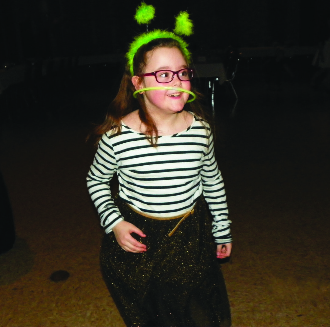 Olivia Steuer helped her mom with the column this month by reminding her that she should always make time to play.