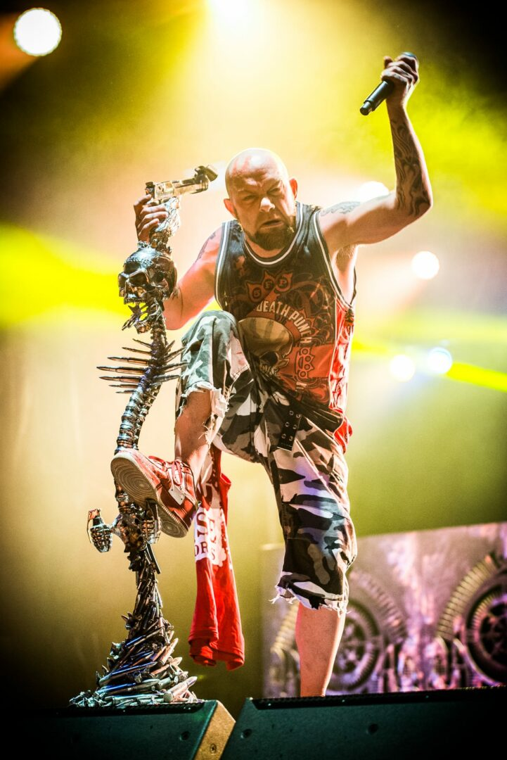 Five Finger Death Punch - Photo by Jim Gilbert / NYSmusic.com