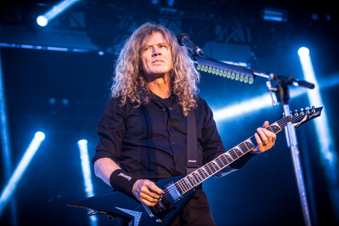 Dave Mustaine of Megadeth - Photo by Jim Gilbert / NYSmusic.com
