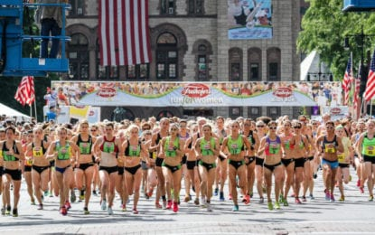 Local results from the Freihofer's Run for Women