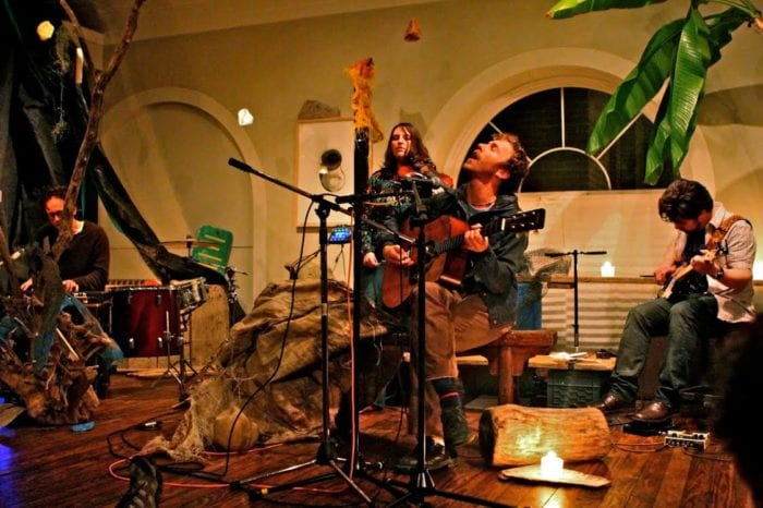 Swamp Baby performs at Upbeat on the Roof tonight at Skidmore College's Tang Teaching Museum and Art Gallery. Submitted photo