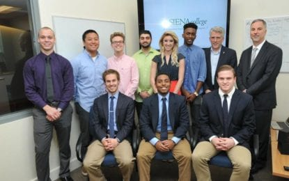 Student-run businesses get a start-up