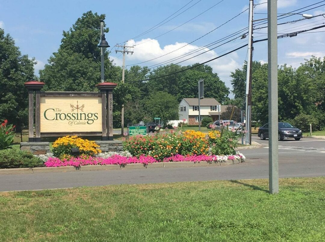 Though the town has preserved open space with The Crossings in the Town of Colonie, many residents are angered over the loss of natural forest with continued development.  Kassie Parisi/Spotlight News