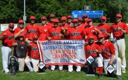 Albany Athletics win second AABC Stan Musial World Series title in come-from-behind fashion