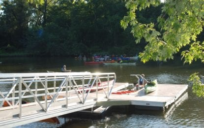New kayak/canoe launch opens at Henry Hudson Park