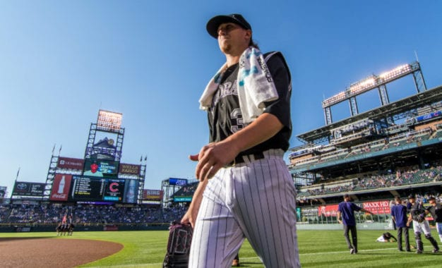 Big league reality: Jeff Hoffman gets the call from the Colorado Rockies