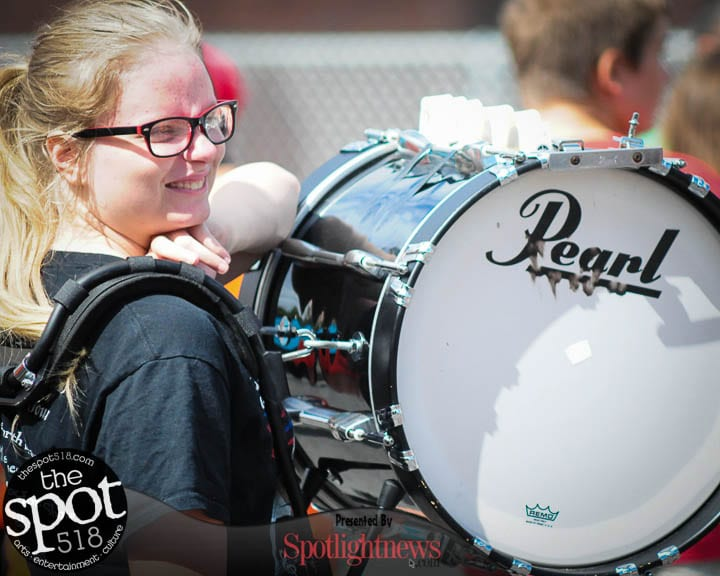 SPOTTED: Schenectady Smiles Pep Rally in front of City Hall, Wednesday, Aug. 17. — Photo by Michael Hallisey / TheSpot518