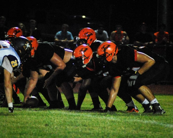 Bethlehem's offense takes the field against Troy in a Sept. 9 Liberty Division game. Rob Jonas/Spotlight