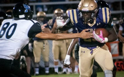 SPOTTED: CBA runs past Albany in football home opener