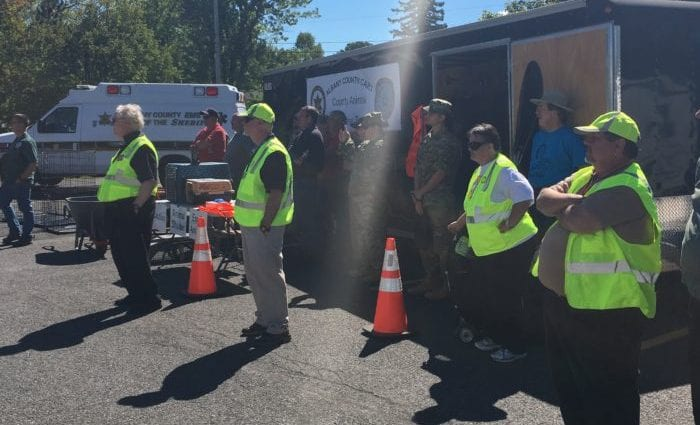 Albany County first responders were on hand at the Sheriff's open house last week. Kassie Parisi / Spotlight