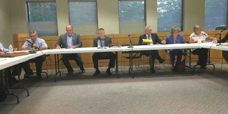 The Comprehensive Plan Review Committee met Wednesday, Sept. 21 to go over how to best reach the public going forward with the planning process. Kassie Parisi/Spotlight News