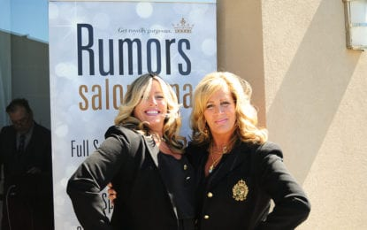 Rumors Salon celebrates success;  launches cancer care program