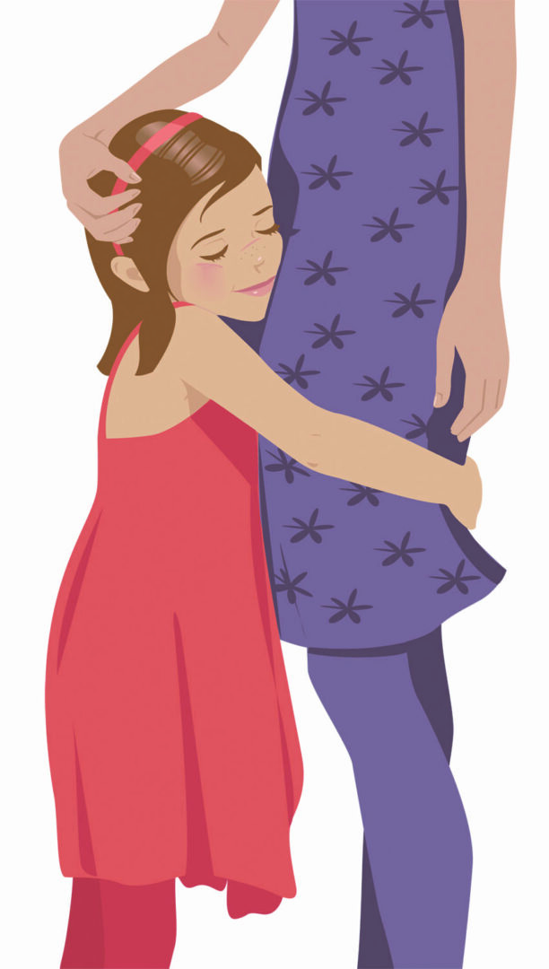 Hugs are nice, but kids need to know that they are welcome to speak up about unwanted hugging – even among relatives.
