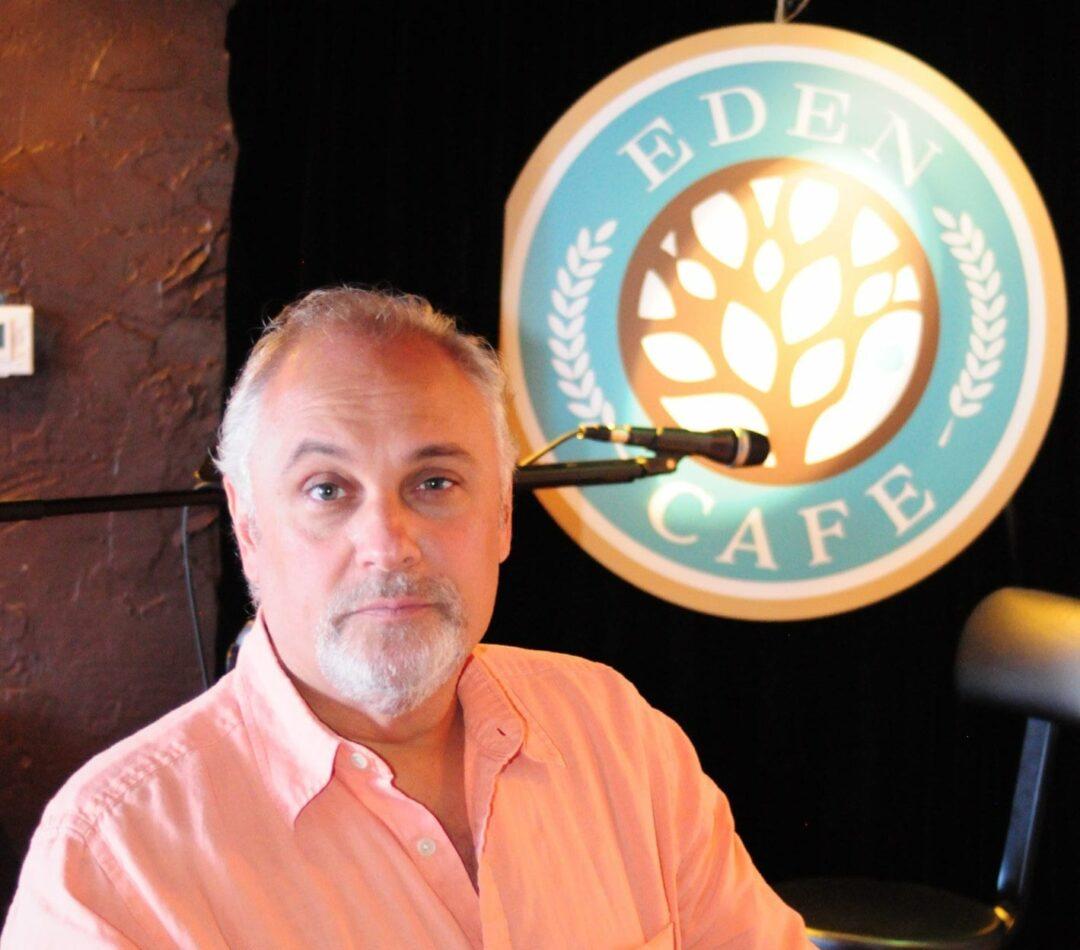 Joe Ventura at The Eden Cafe. Photo by Michael Hallisey/TheSpot518