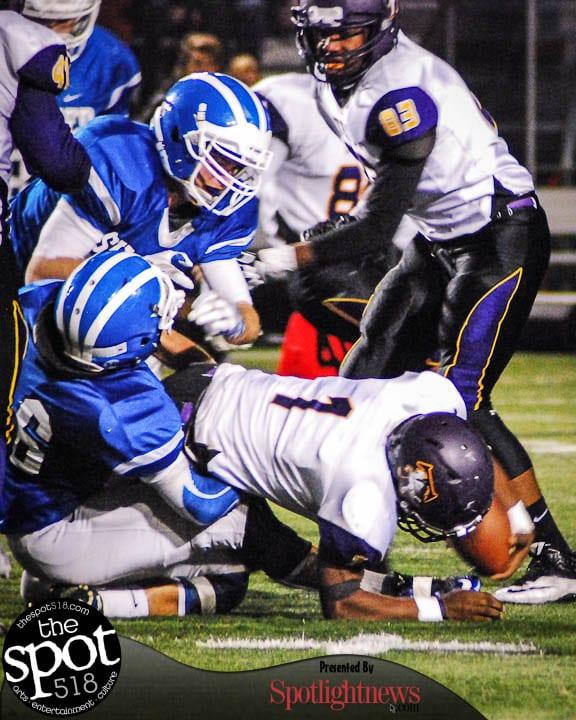 SPOTTED:Shaker vs. Troy Section 2 Class AA football final Nov. 3, 2016. Photo by Rob Jonas/Spotlight