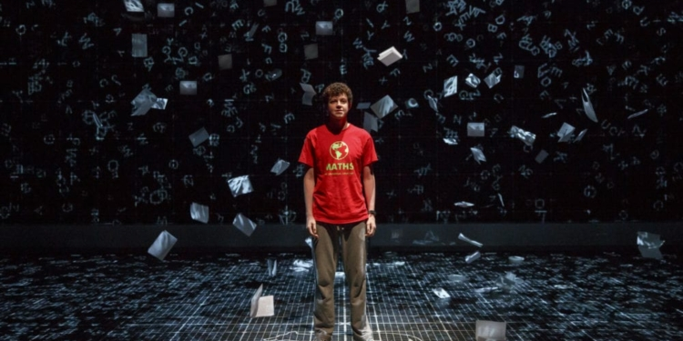 Curious Incident of the Dog in the Nightime (photo courtesy of Proctors)