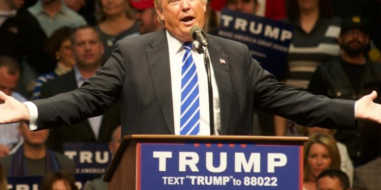 President-Elect Donald Trump at the Times Union Center. (photo by Jim Franco/SpotlightNews)