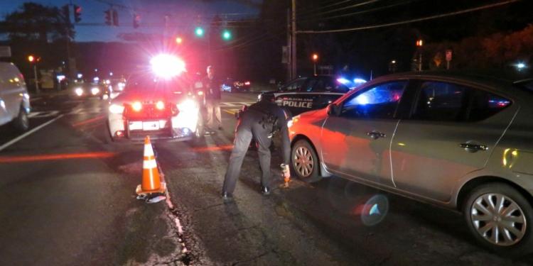 A man was hit by a vehicle on Western Avenue on Thursday, Nov. 3. (photo by Tom Heffernan/special to spotlightnews.com)