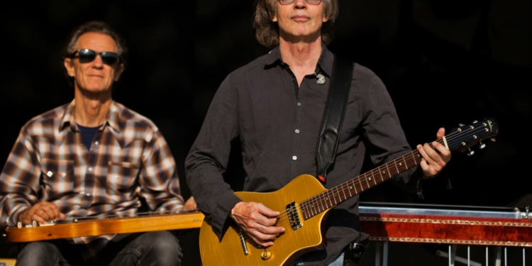 Jackson Brown and Greg Leisz will perform at The Palace Theatre next April. (Photo by Tom Laveuf)