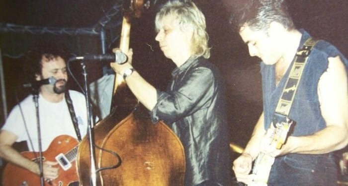 Tinsley Ellis, Buck Malen and Scotty Mac play together at Castaways in Troy sometime in the mid-'90s. Malen passed away on Sunday, Nov. 13 at the age of 66. (Photo Buck Malen / Facebook)