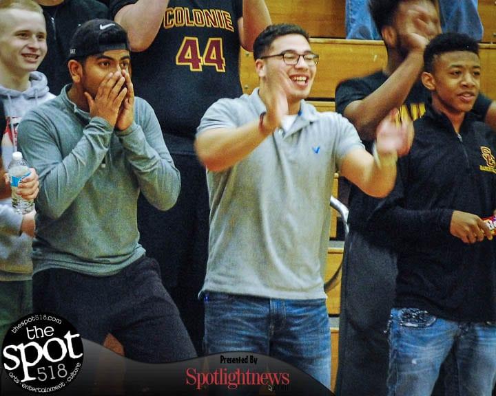 SPOTTED:Colonie vs. Albany boys basketball Thursday, Dec. 8, 2016. Photo by Rob Jonas/Spotlight