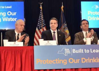 In February, Gov. Cuomo announced the creation of a Statewide Water Quality Rapid Response Team charged with identifying and developing plans to swiftly address critical drinking water contamination concerns // Photo courtesy of NYS