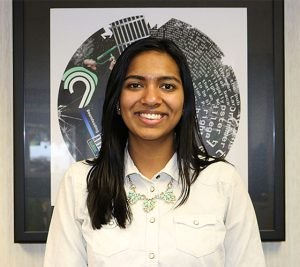 Shaker High School senior Shriya Iyer started WEquality two years ago.      (Photo courtesy of North Colonie Central School District)