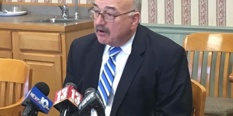 North Colonie School District Superintendent Joe Corr. (Kassie Parisi/SpotlightNews)
