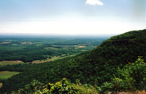 A view from Thatcher Park (Photo via state Department of Transportation)