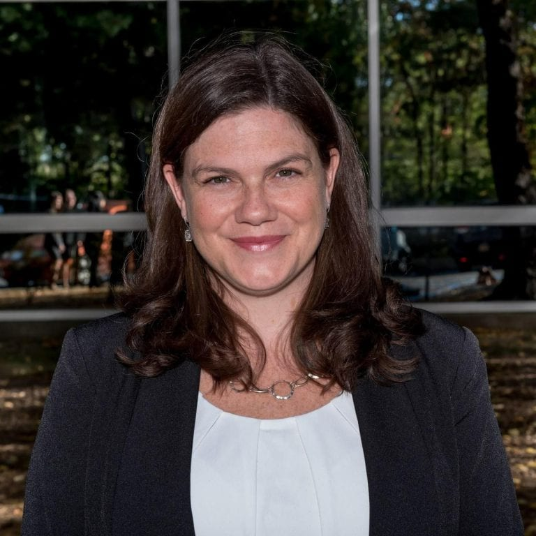 Meredith Moriarty earned the most votes, both before and after a write-in recount, and will begin her first term on the Bethlehem Board of Education on July 1  // BCSD