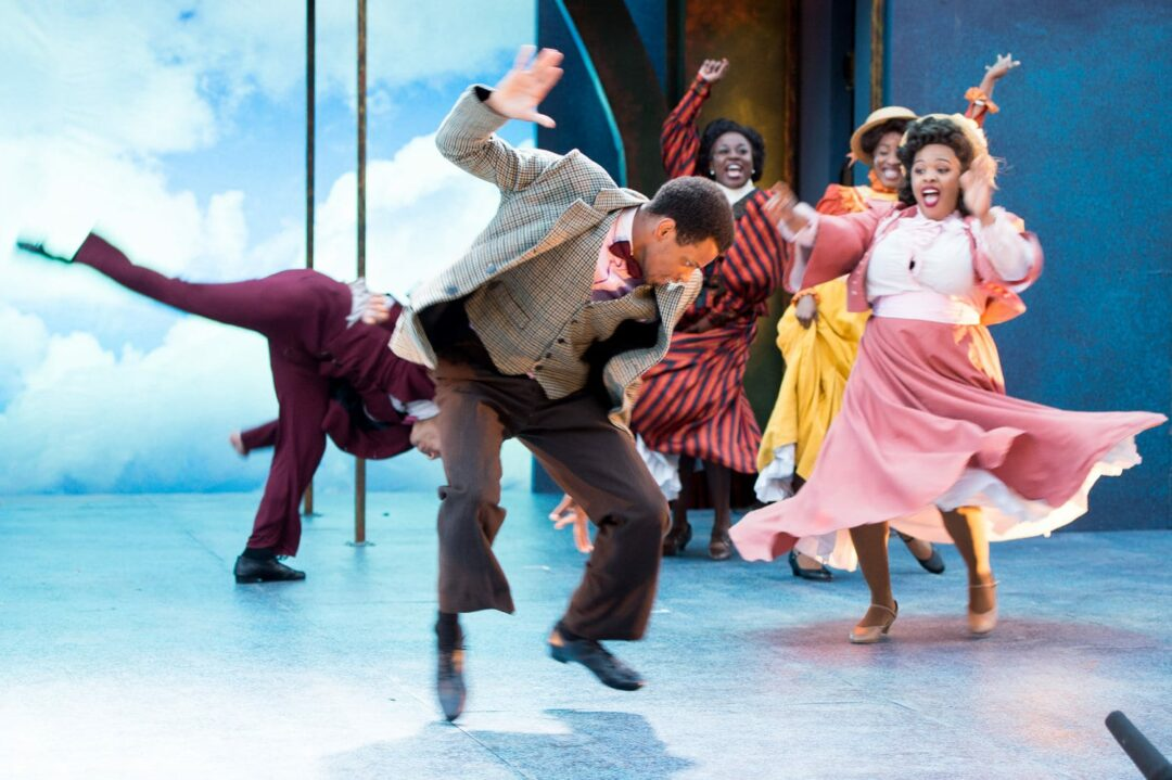A scene from Ragtime (Photo via Park Playhouse website)