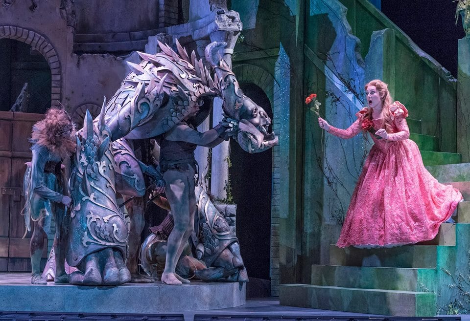 Not the same story as told by Disney, but the original will be familar nonetheless. (photo via Opera Saratoga  Facebook)