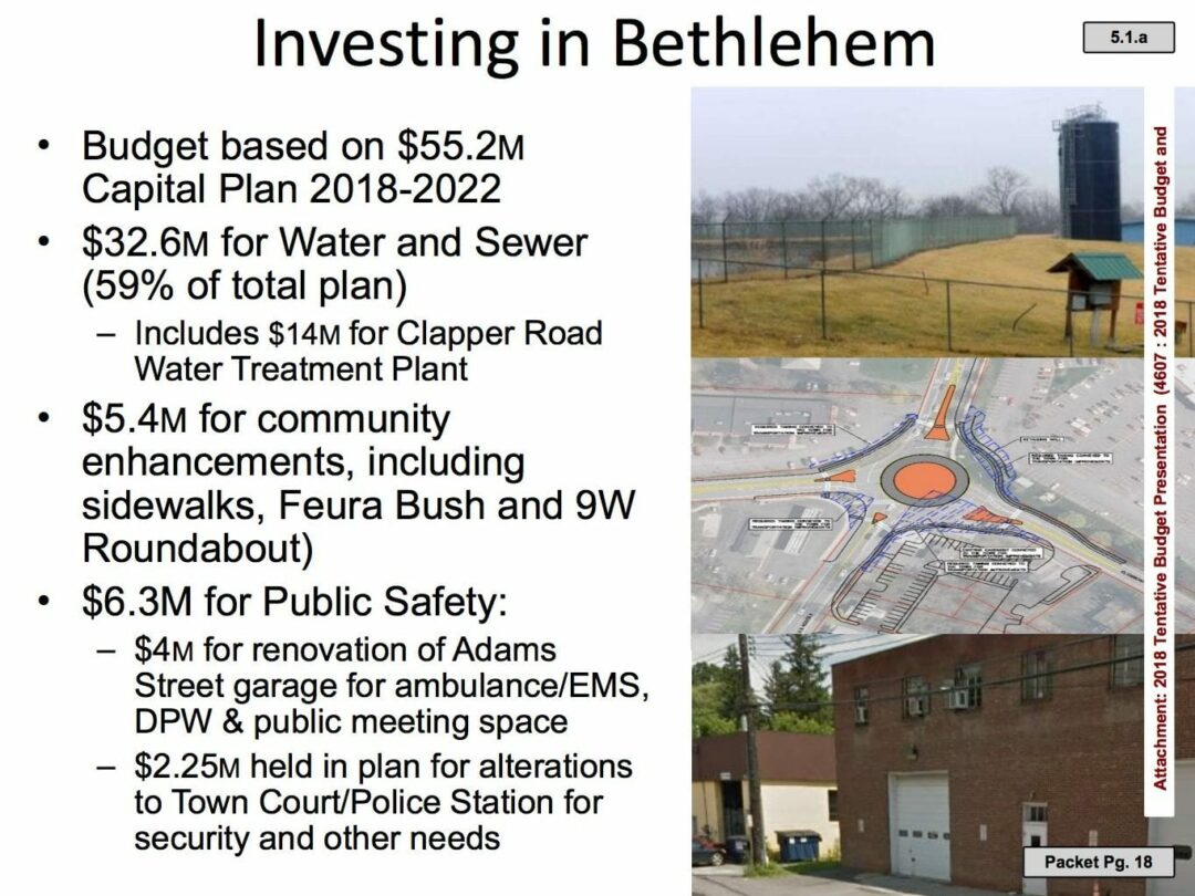 Slide No. 5 in tentative 2018 budget PowerPoint presentation for Wed., Sept. 27