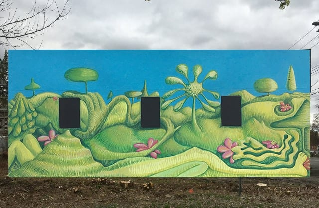 A proposal submitted by winning artist Andrea Hersh for Art on the Rail Trail. Submitted photo