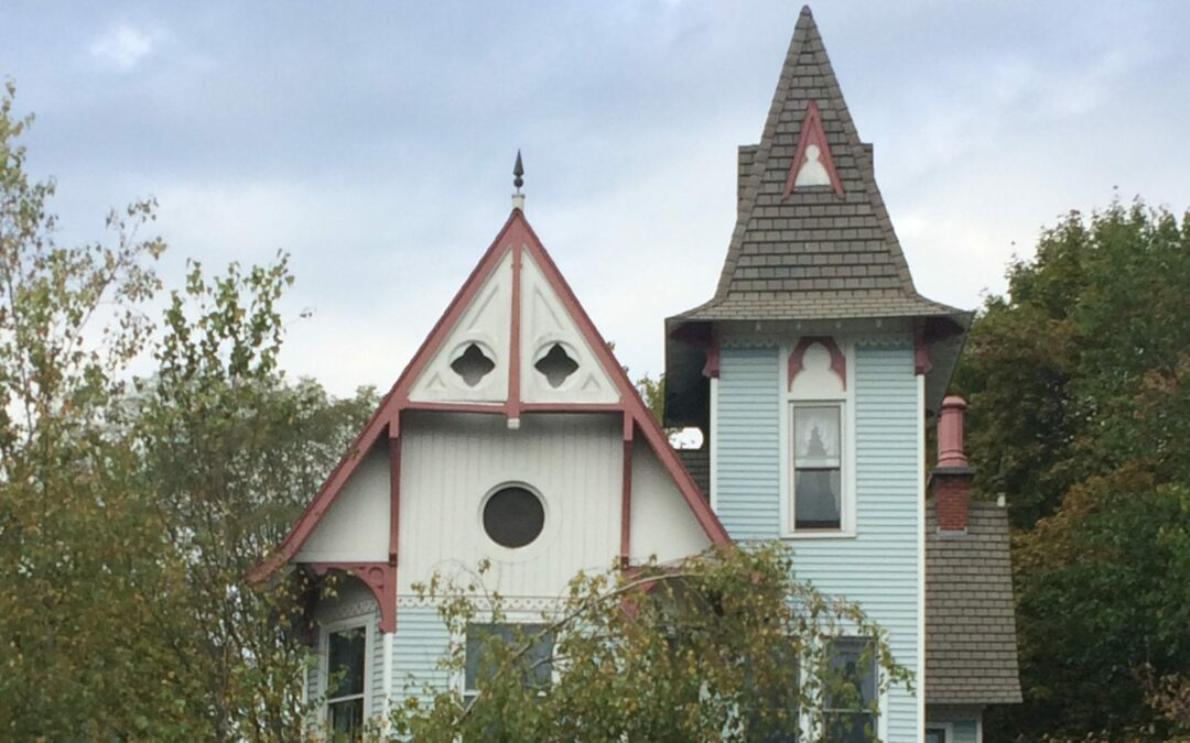 """Before the Tyron family purchased 1511 New Scotland Avenue, area kids called the Victorian home """"the haunted house."""" Photo by Michael Hallisey / Spotlight News"""