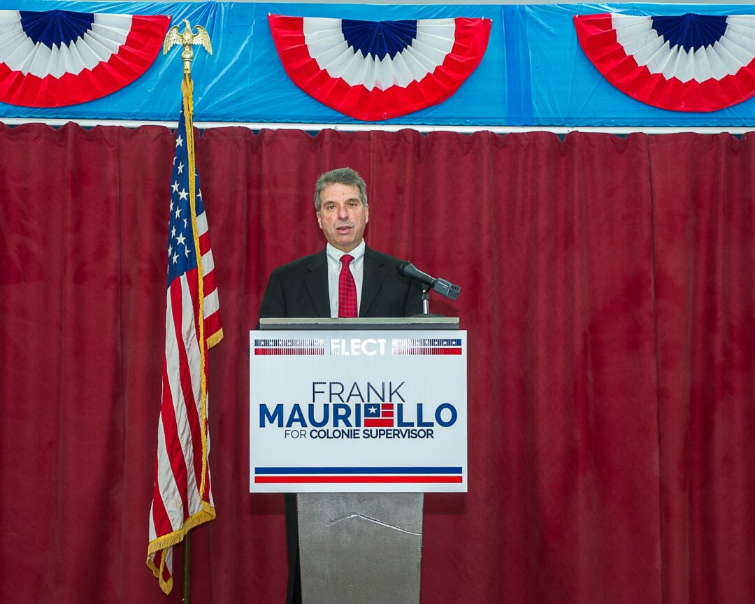 Republican candidate for supervisor Frank Mauriello (Photo by Jim Franco/Spotlight News)
