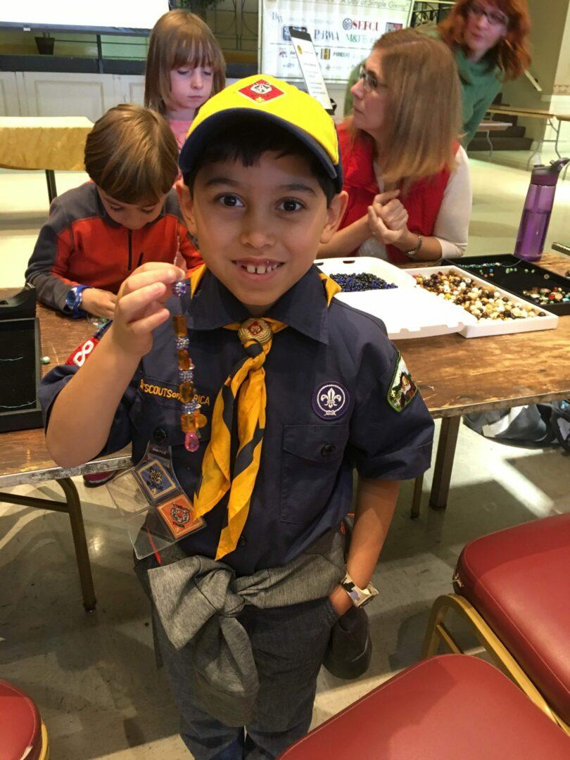 Cesar Vasquez, Second grader at St. Thomas The Apostle