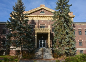 the vacant Ann Lee Nursing Home (Spotlight file photo)