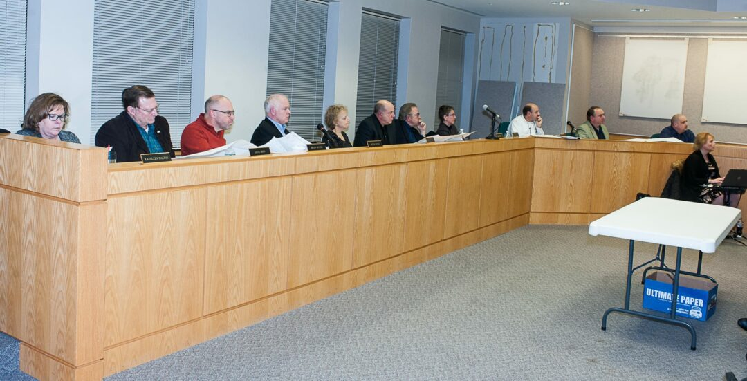The Colonie Planning Board (Photo by Jim Franco/Spotlight News)