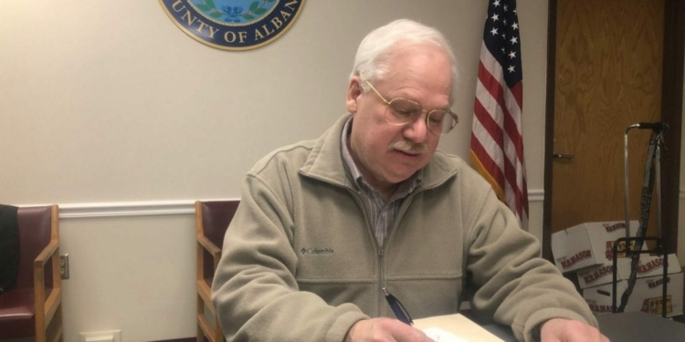 After three months in the office, Gary Domalewicz has resigned as Albany County Legislature's Majority Leader // Photo: Albany County