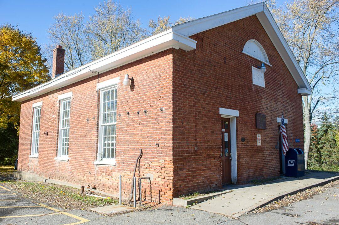 The historic Newtonville Post Office. Jim Franco / Spotlight News.