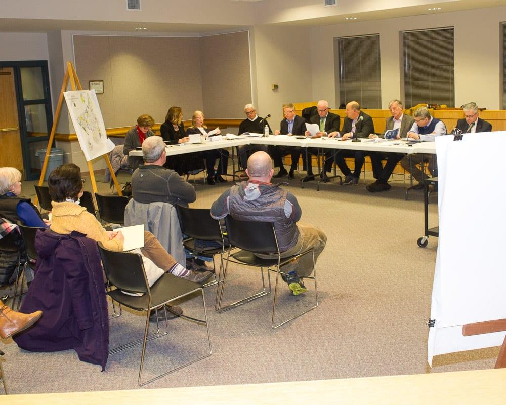 The Comprehensive Plan Committee. Jim Franco / Spotlight News