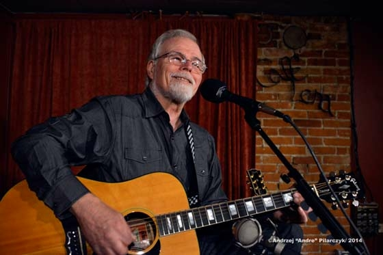 """Marty Wendell, Rockabilly Hall of Famer, Singer and songwriter, performing at Café Lena in Saratoga Springs, NY October 26, 2014. Photo Credit: Andrzej """"Andre"""" Pilarczyk"""